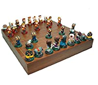 3D Fold Poly Chinese Chess set Xiangqi Journey to the West Monkey King