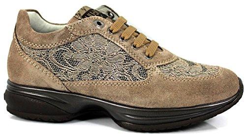 Liu Jo Woman Sneakers UB20828 Women's Shoes Girl Wedge Footwear women's Shoes Taupe u9lQV