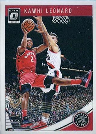 cfca4e4a04a1c Amazon.com: 2018-19 Donruss Optic Basketball #121 Kawhi Leonard ...