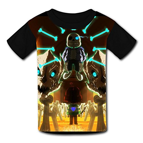 F44Sws2f4D 3D Printed Tee Shirt Large, The Fashion Of Child T-Shirts The Halloween Of The Megalovania1 -