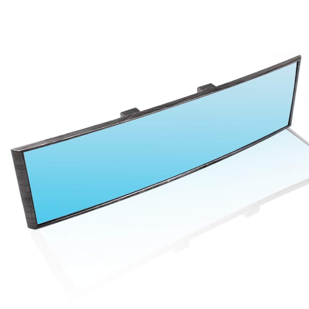 DHFBS/Auto-R/ückspiegel blendfrei gebogener Weitwinkel-Panoramaspiegel Innenr/ückspiegel