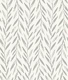 York Magnolia Home 3 Willow Wallpaper, Grey
