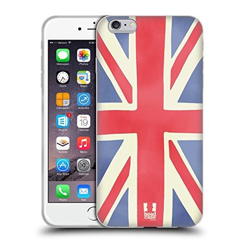 Head Case Designs Union Jack I Dream Of London Soft Gel Case for Apple iPhone 6 Plus / 6s Plus