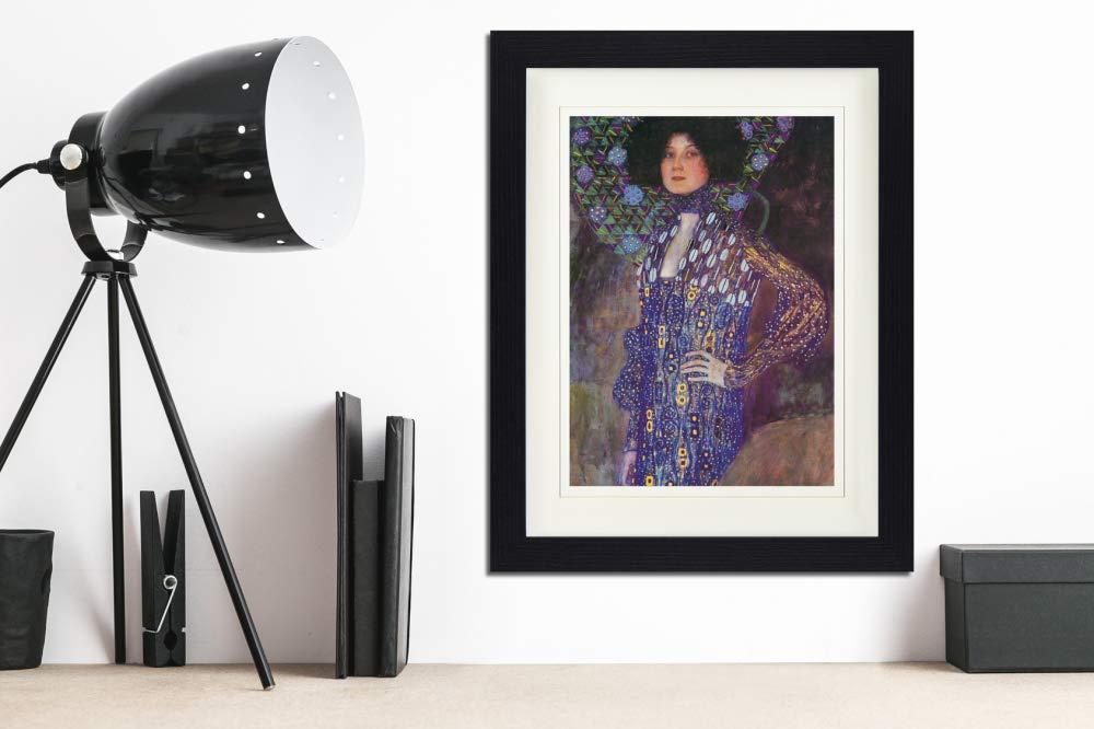 Emilie Fl/öge 1902 Gerahmtes Poster F/ür Fans Und Sammler 40 x 30 cm 1art1 114287 Gustav Klimt