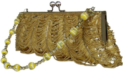 27x9 nbsp; Elegant with Beads DIVA Bag nbsp;inch MODE Luxury Clutch Evening A44Bq8