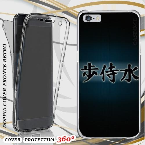 CUSTODIA COVER CASE IDEOGRAMMI CINESI PER IPHONE 6 PLUS FRONT BACK
