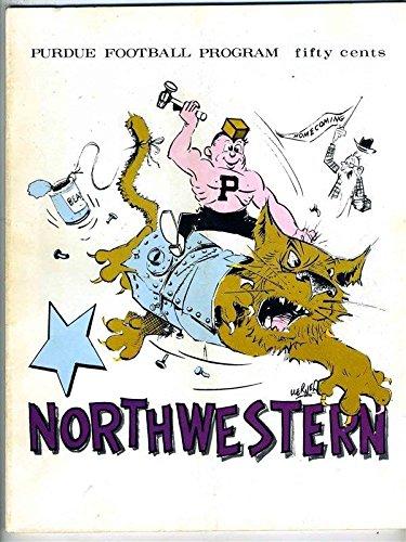 Purdue Boilermakers v Northwestern Wildcats Big Ten Football Program (Northwestern Purdue Football)