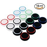 SUBANG Thumb Grip Analog Stick Caps Replacement For PS2 /PS3 /PS4 /Xbox 360 /Xbox One Silicone Noctilucent 8 Pairs 16 Pcs from SUBANG