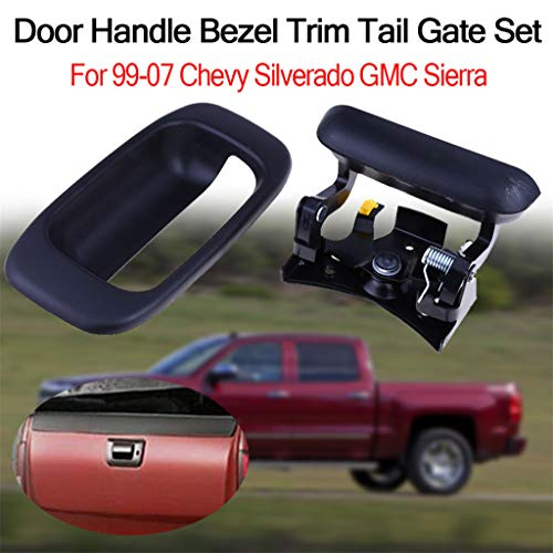 Eoeth Door Handle Bezel Trim Tail Gate Set for 99-07 Chevy Silverado GMC Sierra(Shipped by US) Free - Wedding 2007 Dresses