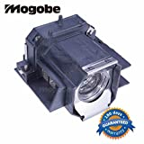 Mogobe ELPLP39 V13H010L39 replacement projector lamp compatible bulb with generic housing for Epson EMP-TW1000 EMP-TW2000 EMP-TW700 EMP-TW980 HOME CINEMA 1080