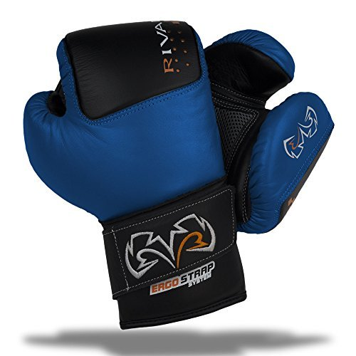 RIVAL BOXING GLOVES-RB50 BAG GLOVES (BLUE, X-LARGE)