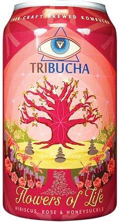 Flowers Of Life Tribucha Kombucha 12 Pack