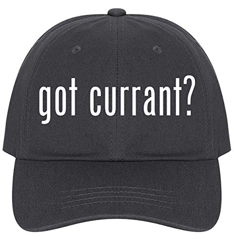 The Town Butler got Currant? - A Nice Comfortable Adjustable Dad Hat Cap, Dark Grey