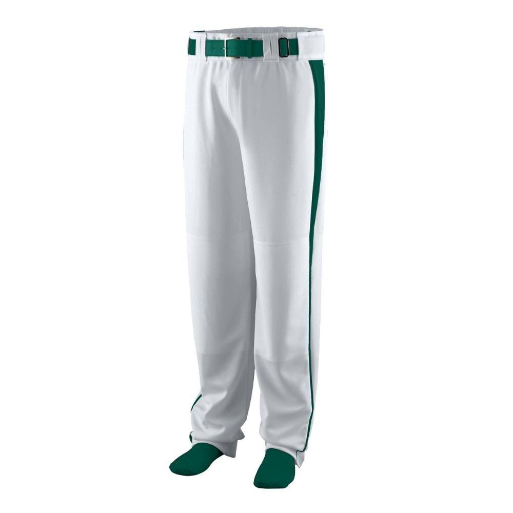 Silver Grey Dark Green L Augusta Sportswear 1466 Youth's Triple Play Baseball Pant