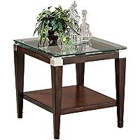 Bassett Mirror T1171-200 Dunhill Rectangular End Table