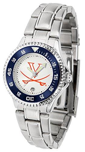 Linkswalker Ladies Virginia Cavaliers Competitor Ladies Steel Watch
