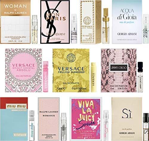 11 Women's Designer Fragrance Vial Sample Set Lot