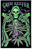 Opticz Grim Reefer Blacklight Poster