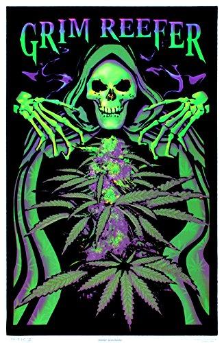 Grim-Reefer-Marijuana-Pot-Blacklight-Poster-Print