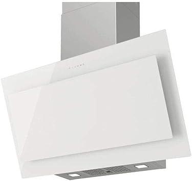 Frenan Air V-GLASS White - Campana inclinada, evacuación o reciclaje, motor 700 m3-h, 48 dB mini, 3 velocidades, 90 cm, cristal.: Amazon.es: Bricolaje y herramientas