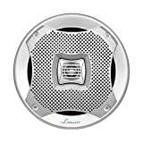 Lanzar AQ69CXS 500 Watts 6-InchX9-Inch 2-Way Marine Speakers (Silver)