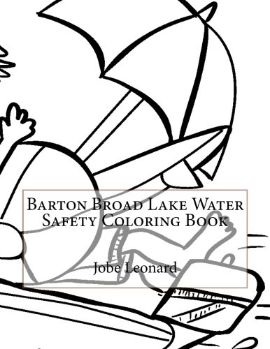 Barton Broad Lake Water Safety Coloring Book