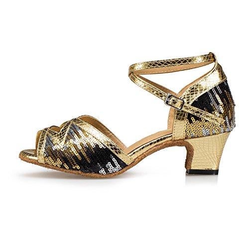 Miyoopark - salón mujer Gold-5cm heel