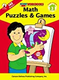 Math Puzzles and Games, Grade 3, , 0887247415