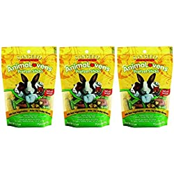Sunseed Sunthing Special Animal Lovens Natural Treat Pretzel Sticks - Pack of 3, 3.5 Oz. Ea.