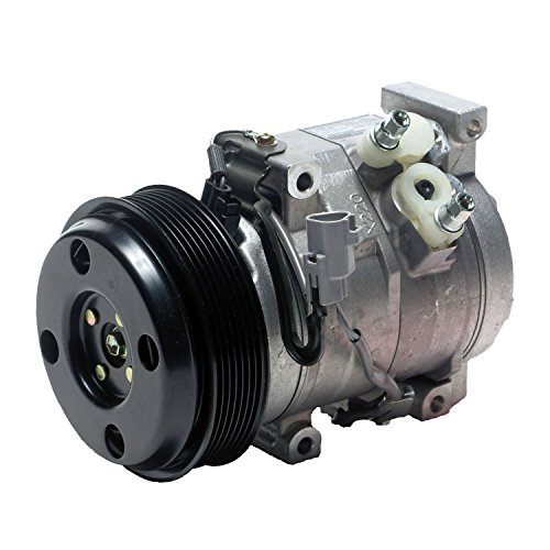 Denso 471-1371 New Compressor with Clutch