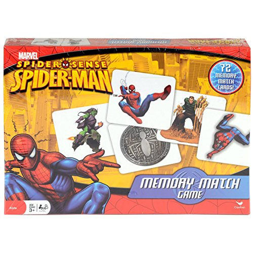 Memory Match Game-Spider-Man by Cardinal