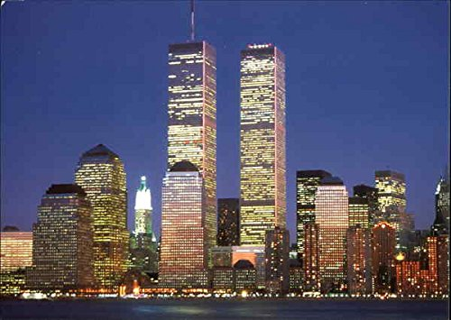 Center Postcard - World Trade Center New York, New York Original Vintage Postcard