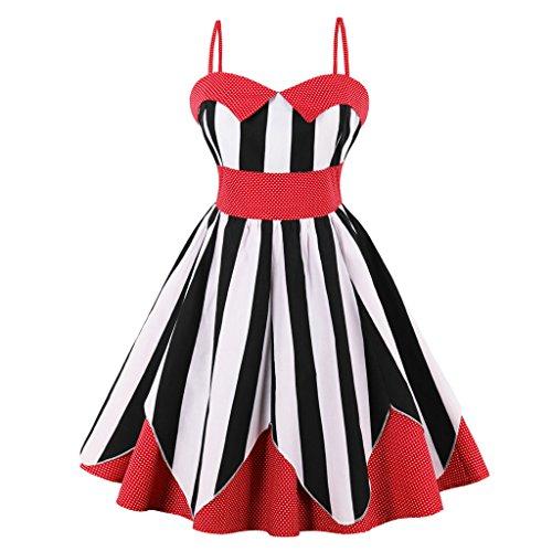 80s red prom dress - 6
