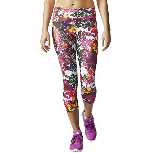 adidas Supernova Women's Capri Running Tight - SS16 - X Small - Pink