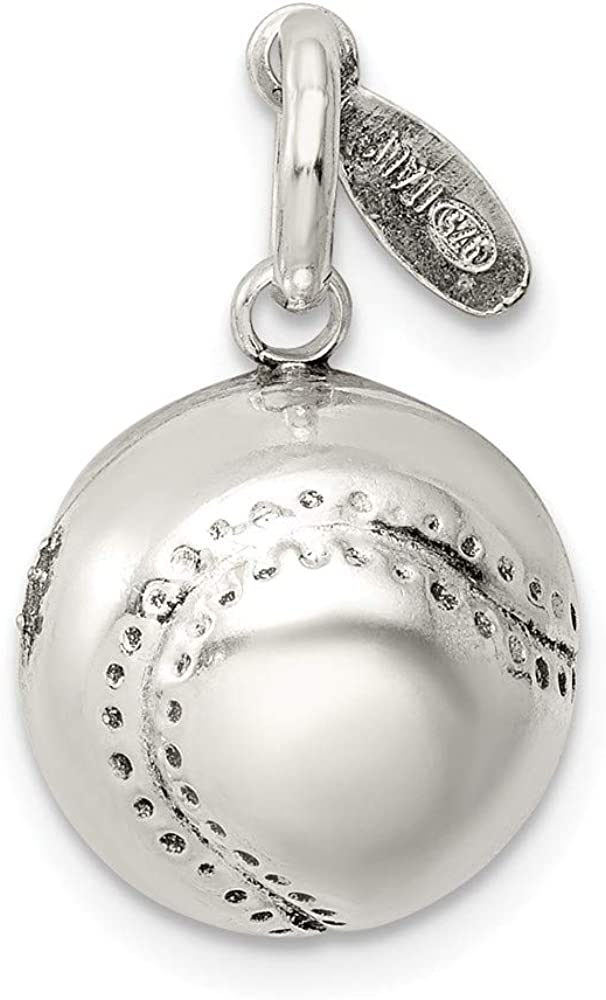 Sterling Silver Womens 1mm Box Chain 3D Masters Degree Certificate Pendant Necklace