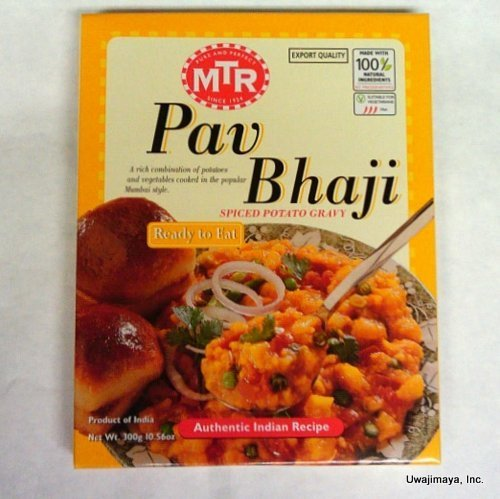 Mtr   Pav Bhaji  Spiced Potato Gravy  300G By Mtr
