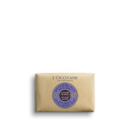 Amazon.com: LOccitane Jabón a base de vegetales extra suave ...