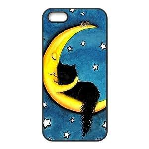 Cute Moon DIY Case for Iphone 5,5S, Custom Cute Moon Case