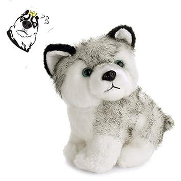 Amazon.com: Animal de peluche perro Husky para bebé Niños ...