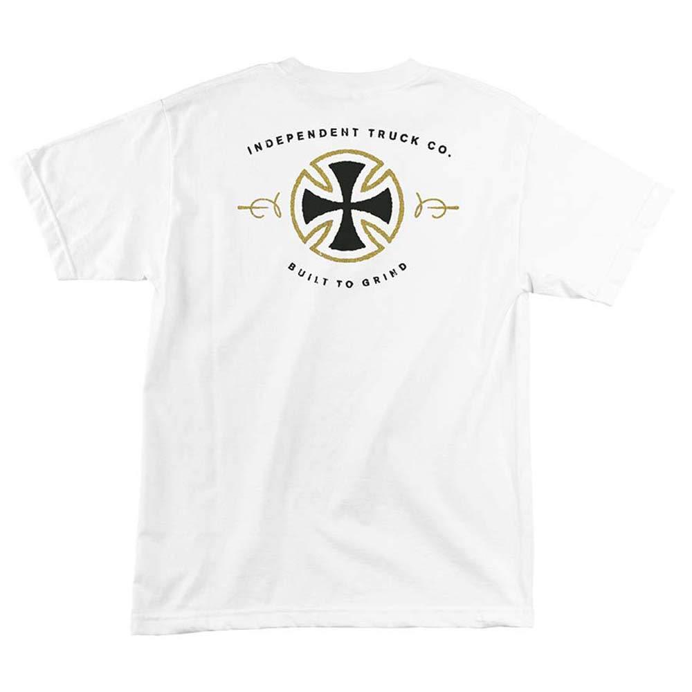 Independent Trucks BAR AND CROSS LONG SLEEVE Skateboard Shirt NAVY XXL