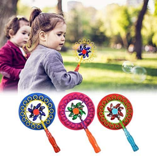 Grokebo 風車バブルマシン バブルスティック 子供のおもちゃ シャボン玉風車 子供バブルマシーン 泡泡機 雰囲気作り 知育玩具 お風呂おもちゃ