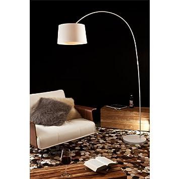 205x150 Mit Aus Salesfever Dimmbar Steh Marmor Weiß Standfuß Lampe qzpGMSUjVL