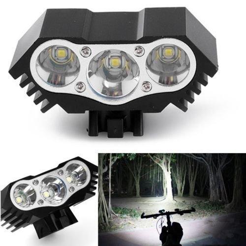 Alek.Shop 10000 LM 3X ヘッドライト 自転車 LED T6 バイク ヘッドライト ランプ トーチ 懐中電灯 US   B077JVPBFQ