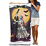 Sngogoing Nightmare Before Christmas Jack Bath Towel Beach Towel Pool Towel For Adults