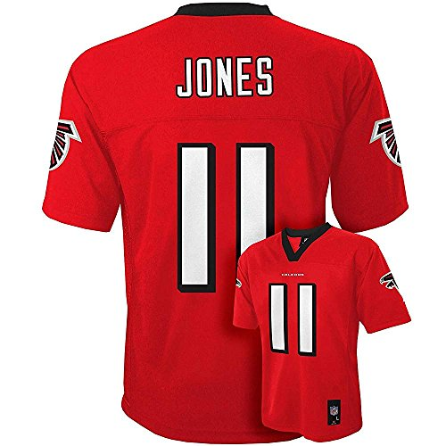 Julio Jones Atlanta Falcons NFL Toddler Red Home Mid-Tier Jersey (Toddler 2T)