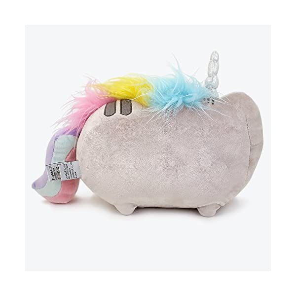 "GUND Pusheenicorn Plush Stuffed Animal Rainbow Unicorn, 13"" 6"