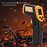 Digital Infrared Meter with Non-contact Digital Intelligent Sensor,Digital Hygrometer Indoor Thermometer and Humidity Gauge with Temperature Humidity Monitor