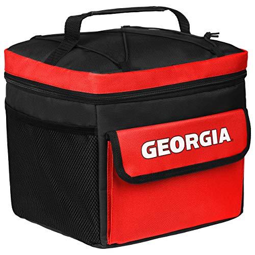 FOCO NCAA Georgia Bulldogsall Star Bungie Cooler, Georgia Bulldogs, One Size