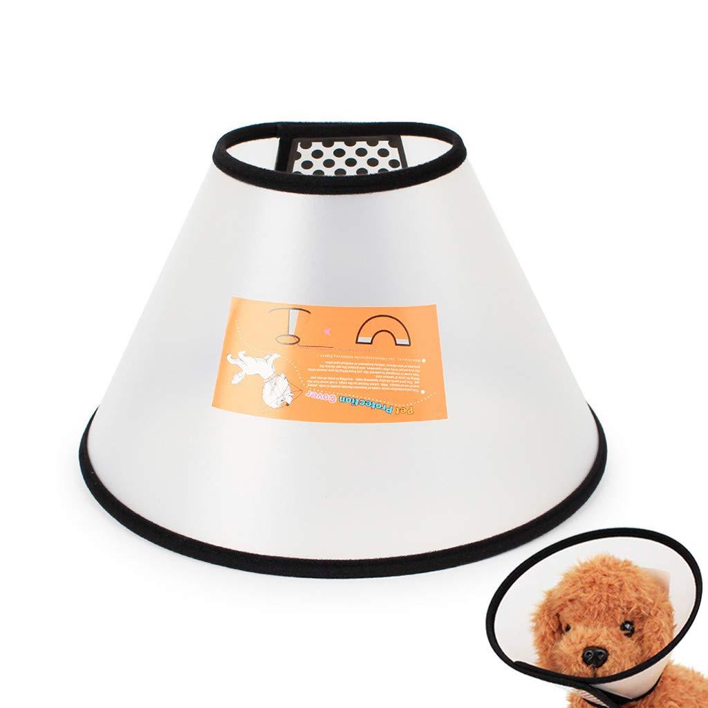 Ajustable Elizabeth Soft Hood Collar Mascota Herida Curación Cono Perro Gato Anti-mordida Sombrero Casco Protección
