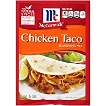 McCormick Chicken Taco Seasoning Mix, 1 oz